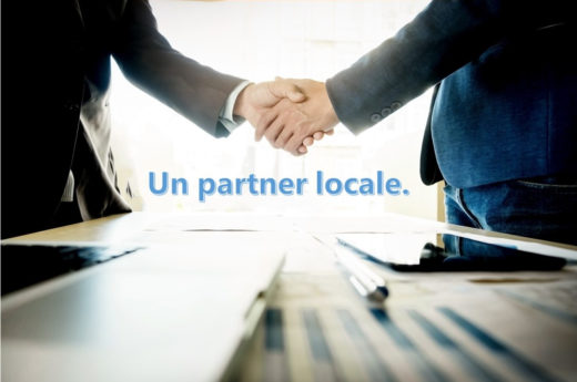 Un piccolo partner locale